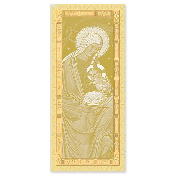 16CT GOLD BEURONESE MARY JESUS