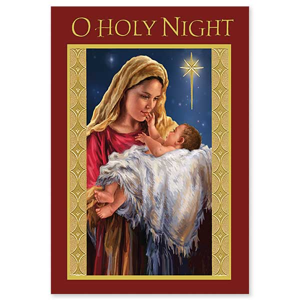 16CT O HOLY NIGHT BOXED