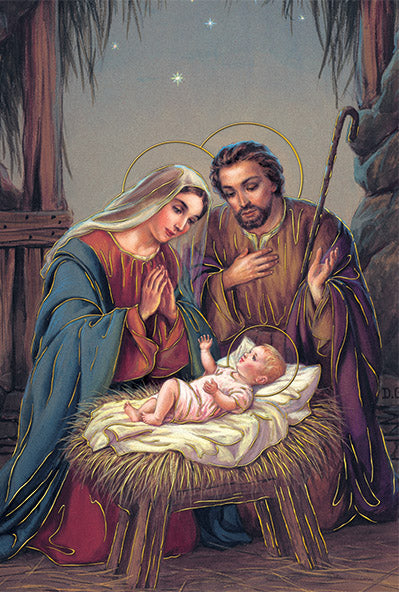 15 CT HOLY FAMILY BOXED CARDS
