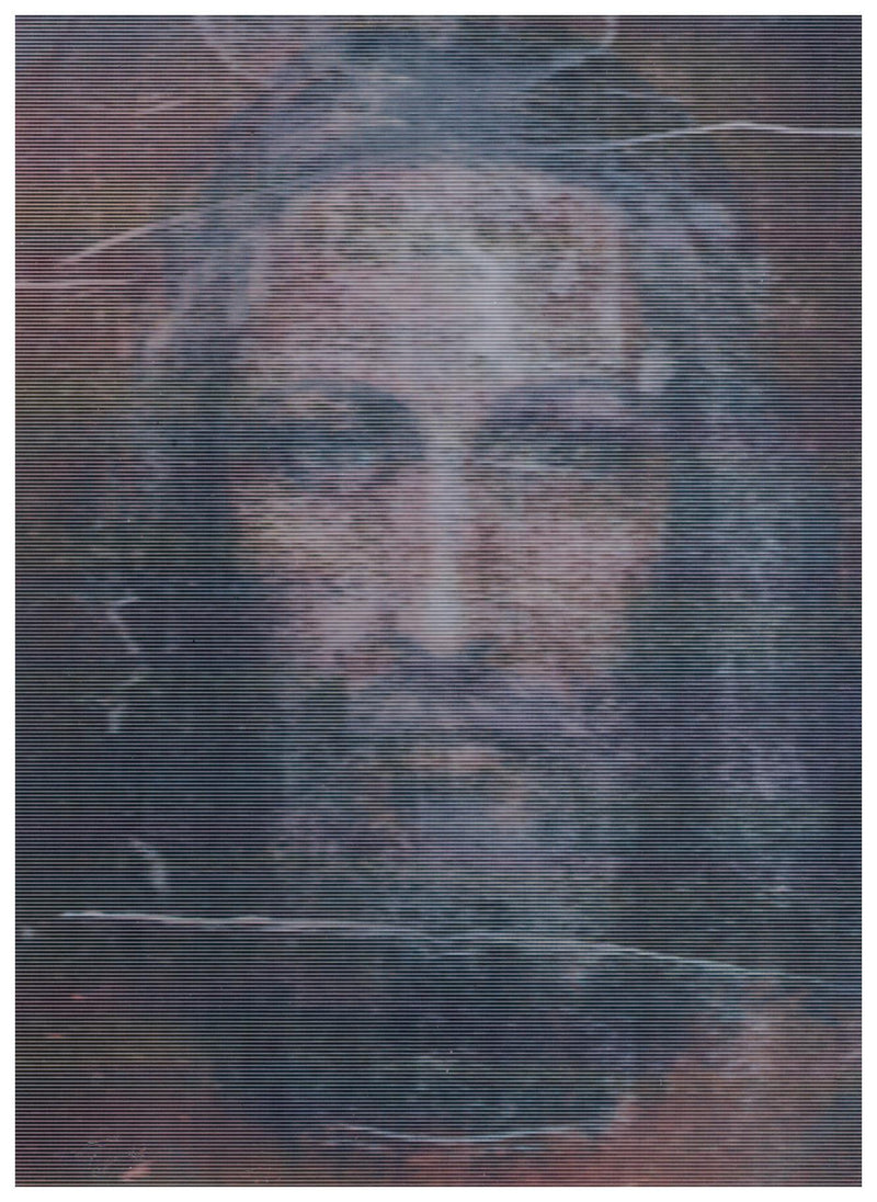 3D SHROUD OF TURIN POST CARD