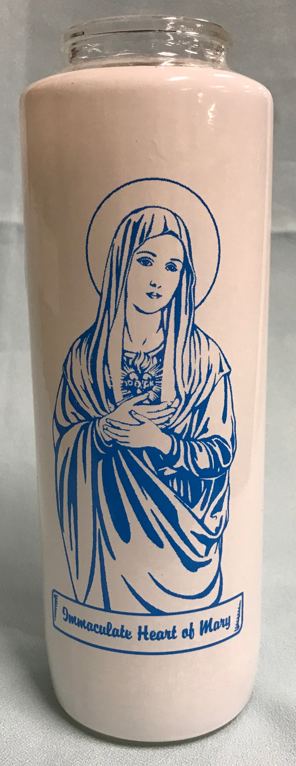 6-DAY IMMACULATE HEART CANDLE