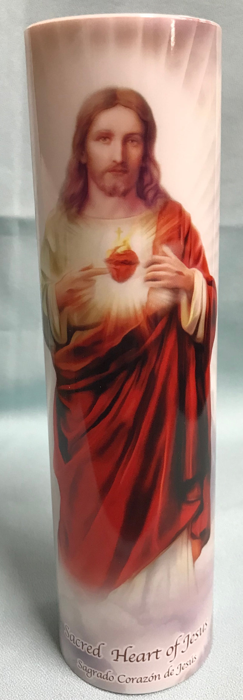 LED SACRED HEART CANDLE