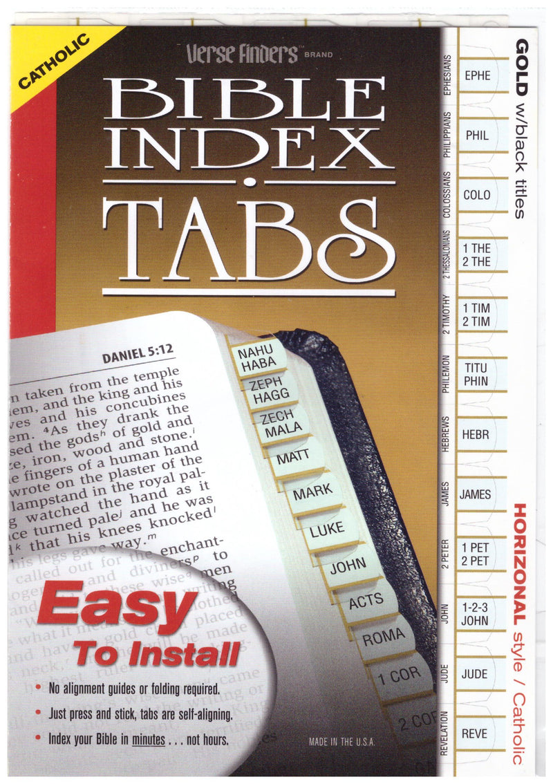 VERSE FINDER TABS CATH