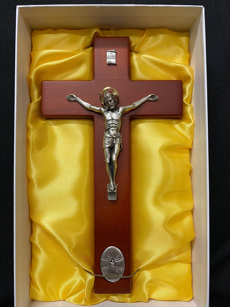 ROSE HOLY SPIRIT CRUCIFIX