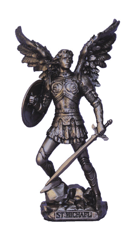 ST MICHAEL WITHOUT DEVIL 4""