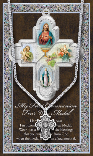 COMMUNION FOLDER W/ 4 WAY