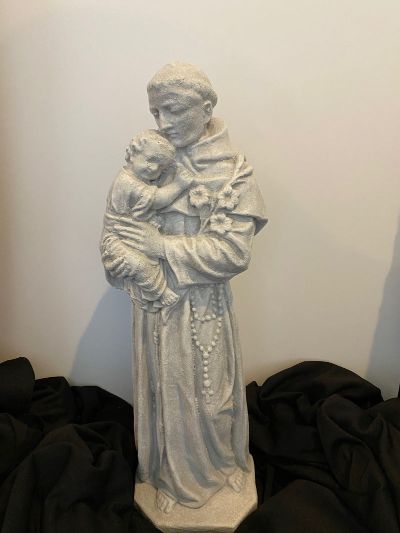 "21"" ST. ANTHONY OUTDOOR STATUE"