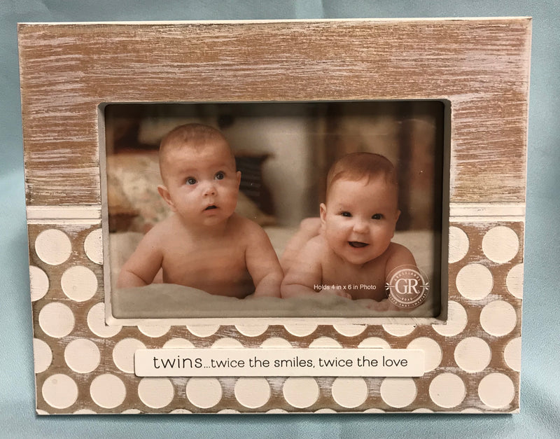 Twins Picture Frame.