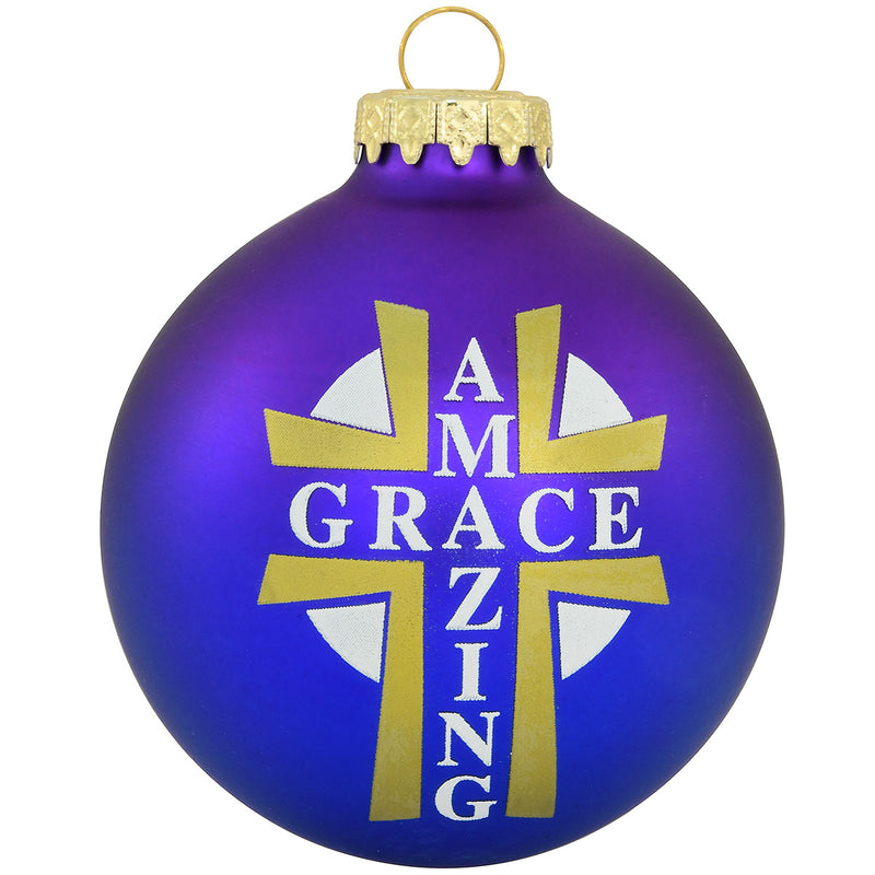 AMAZING GRACE PURPLE ORNAMENT