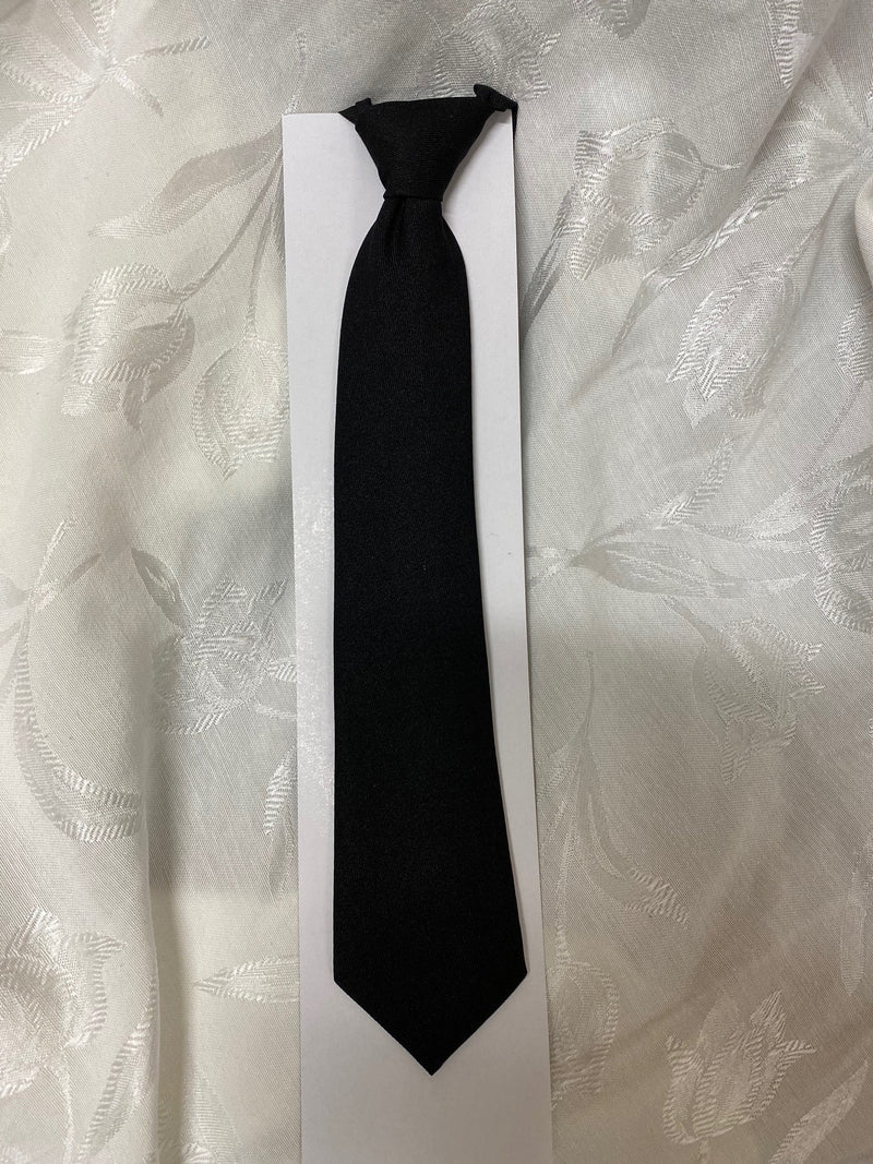 BLACK NYLON COMMUNION TIE