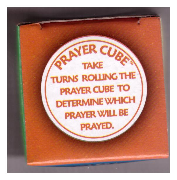 CHILDREN PRAYER CUBE