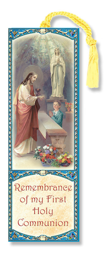 COMMUNION BOY BOOKMARK