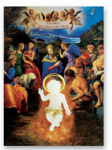 LUMINOUS TINY BABY JESUS