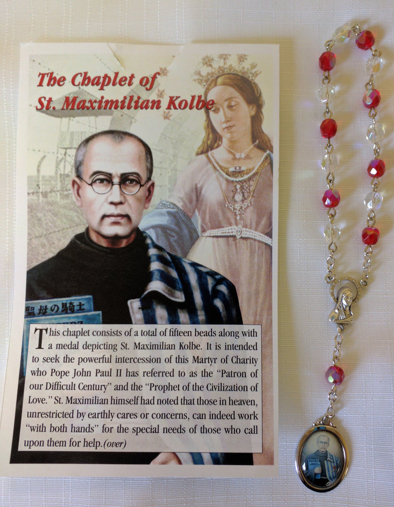 CHAPLET OF ST MAX KOLBE