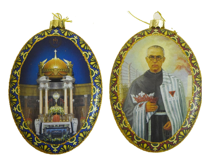 ST MAX DOUBLE SIDED ORNAMENT