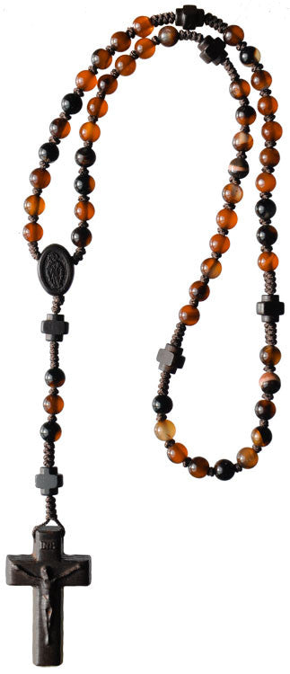 6MM AGATE GEMSTONE ROSARY