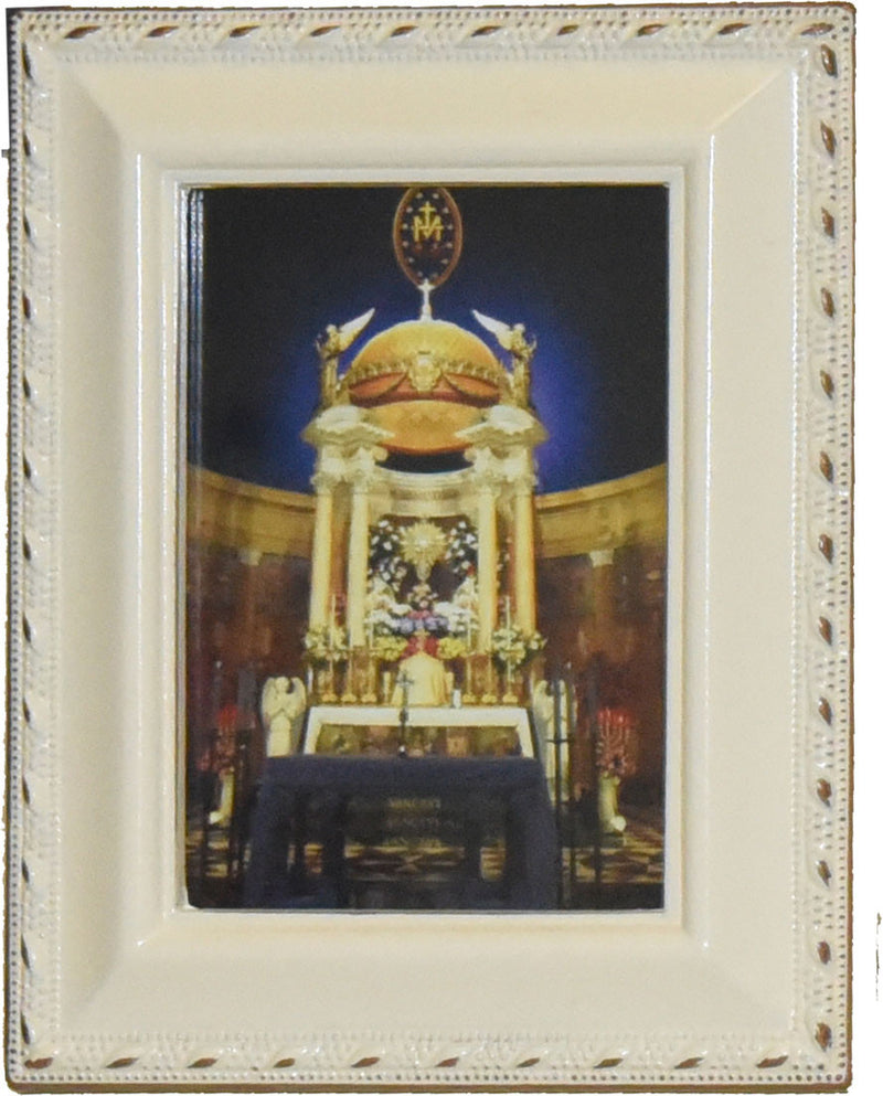MAXIMILIAN SHRINE FRAMED PIC