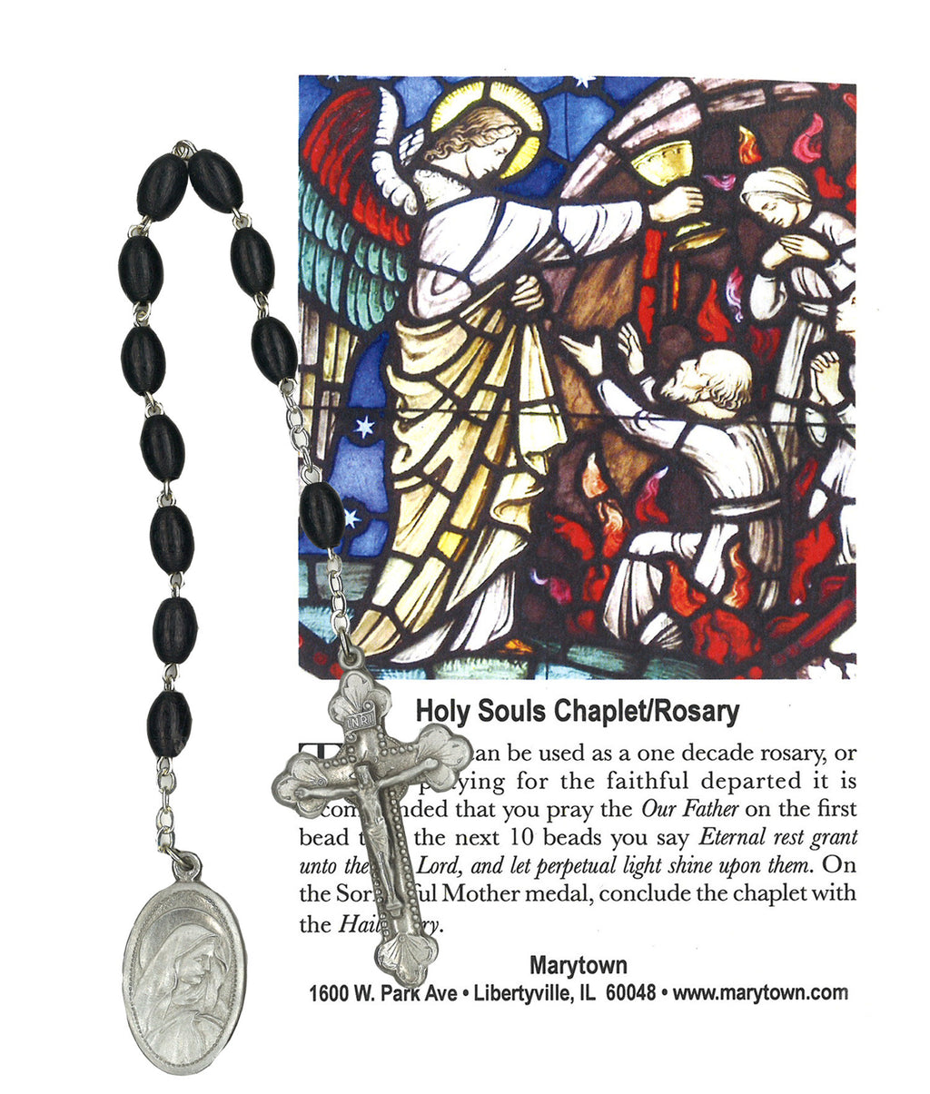 THE HOLY SOULS CHAPLET