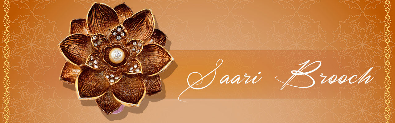 Buy Saree Brooches Pins for Women at Best Prices, Trendy Jewellery