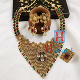 Combo Set, Traditional Necklace & Finger Ring Buy Online_Hayagi