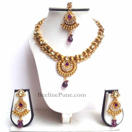 Buy Dazzling Necklace Sets Online-Hayagi - Beeline  - 1