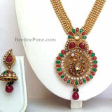 Beautifully designed flower Gold Long Necklace Online India | Hayagi - Beeline  - 2