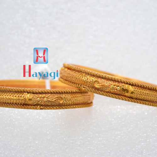 Traditional Matte Finish Bangles Dot Design - Hayagi(Pune)