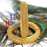 Bangles Antique Finish Net Flower Design Tode, Kada_Hayagi(Pune)