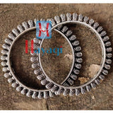 Bangles Kada German Silver Finish Oxidized for Women_Hayagi(Pune)