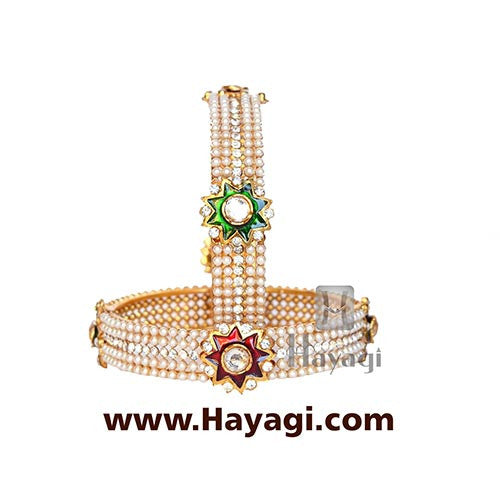 Bangle - Pearl Bangles Online Jewelry - Hayagi - Beeline  - 2