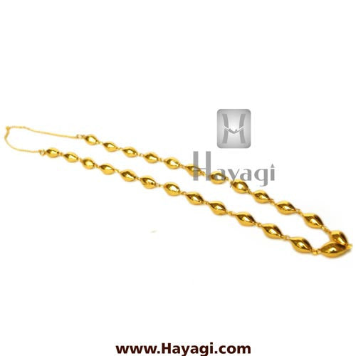 Bor Mala, Ethnic Bor Maal, Antique Look Necklace-Hayagi - Beeline  - 2