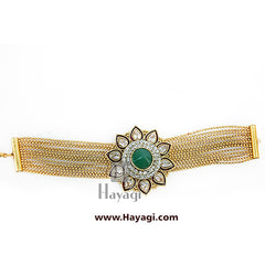 Bracelet-Bracelet for Women / Gold plated kada, Kada Online - Hayagi