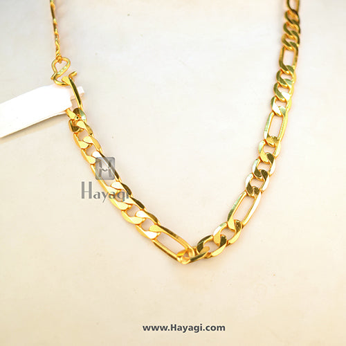 Emerald Golden Chain For Mens Buy Online-Hayagi