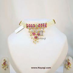 Pearl Choker Set Online Shopping India