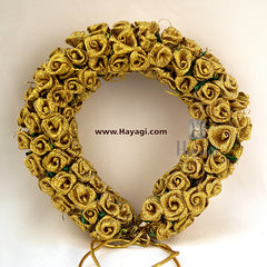 Gold Flower Hair Bun Decoration For Women Online-Hayagi