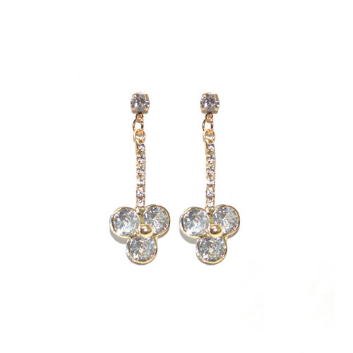Pretty Diamond Studded Earrings Danglers Buy Online- Hayagi