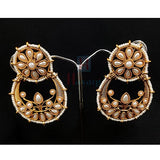 Chand Design Pearls Dangler For Women _Hayagi(Pune)