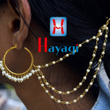 Kaan Vel, Golden Pearl With Earring Online _Hayagi(Pune)