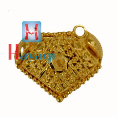 Flower Pendant in Forming, Gold Polish -Hayagi(Pune)