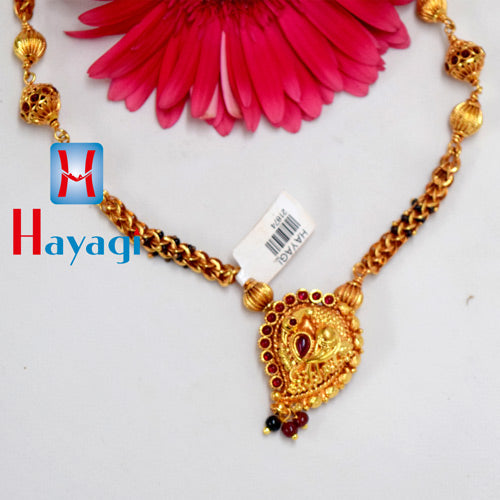 Buy Online 1 Gram Gold Plated Mangalsutra, Online Jewellery