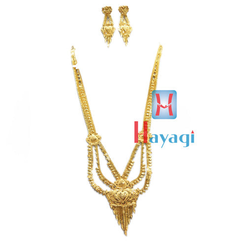 Rani Haar 1 Gram Necklace Heart Shape Design Online -Hayagi