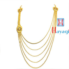 1 Gram  Necklace 5 Line Multicolour Design Online -Hayagi