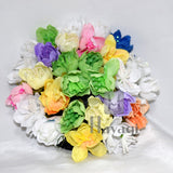 Graceful Multicoloured Flowers HairBun Ambada For Women Buy Online_Hayagi
