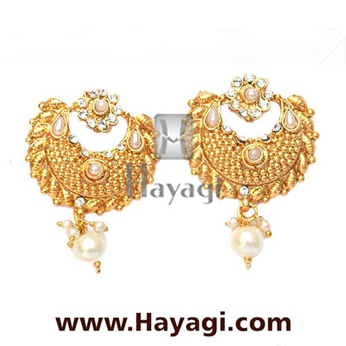 Bridal Hair Accessory, Naga Jadai in Gold, Bridal Hair Pin - Hayagi - Beeline  - 2