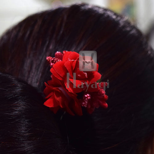 Artificial Red  Rose Flowers for Home Wedding Party Decor -Hayagi