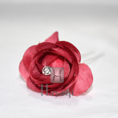 Red Artificial Rose Flower Wedding Bride Party & Home Decor Online -Hayagi