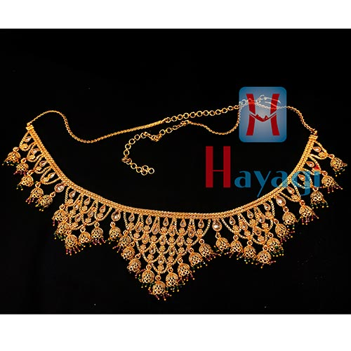 Waist Belt Bollywood Indian Traditional Wedding Chain Jewelry -Hayagi