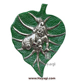 Wall Hanging of Krishna/Laddu Gopal On Leaf- Hayagi