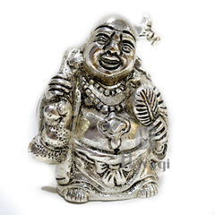 Happy Man laughing Buddha statue Good luck Online - Hayagi