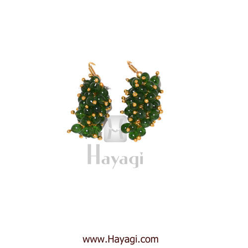 Chandni Necklace Green Pearls Woven Mala Set Online - Hayagi - Beeline  - 3